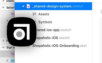 Using Sketch Libraries